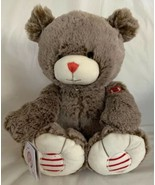 "Kaloo Rouge Bear Plush Large Brown Stuffed 15"" Bear Baby Toy Shower Gift... - $24.74"