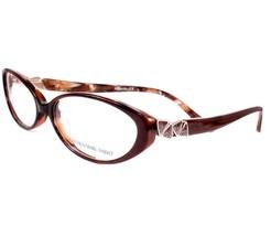 Carmen Marc Valvo Eyeglasses Alexia Chestnut Women Metal Plastic 53-14-140 - $86.12