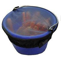 Horse Spa Mesh Bucket Top Small 8 Quart 2 Gallon Horse Feed Bucket Cover image 3