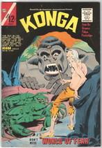 Konga Movie Comic Book #17, Charlton 1964 FN+/VFN- - $28.90