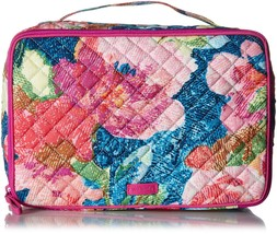 Vera Bradley Iconic Large Blush & Brush Case, Signature Cotton, Superbloom - $58.78