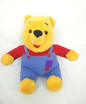 Mattel Disney Hug N Wiggle Winnie The Pooh Talking Plush Doll 1997 - $13.98