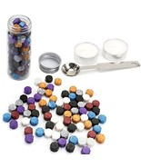 Wax Seal Beads, Yoption 150 Pieces Octagon Sealing Wax Sticks Beads with... - $9.96