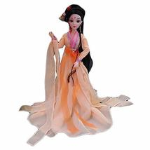 PANDA SUPERSTORE Orange Costume Chinese Fictional Character Ball-Jointed Doll 12