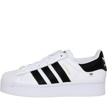 Adidas Originaux Femmes Superstar Épais Baskets Blanc/Noir/Or - $171.22