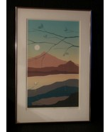 "Alex Miles Ltd Edition Landscape Print Framed ""Destination II "" Signed, ... - $300.00"