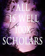 100X 7 SCHOLARS ALL IS WELL BRING ALL BACK TO BALANCE EXTREME MASTER MAG... - $39.91