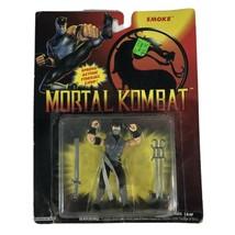 "Hasbro Mortal Kombat Fighter Smoke 3.75"" Action Figure Vintage 1994 - $118.79"
