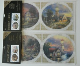 Victorian Lighthouse + Storm Peace Hope Imperial Instant Stencils Thomas... - $22.95