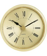 "2-1/2"" Gold Roman Clock Insert - $18.01"