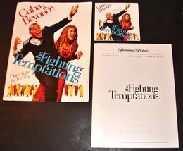 2003 THE FIGHTING TEMPTATIONS Movie Complete PRESS KIT Cuba Gooding Jr. ... - $14.24