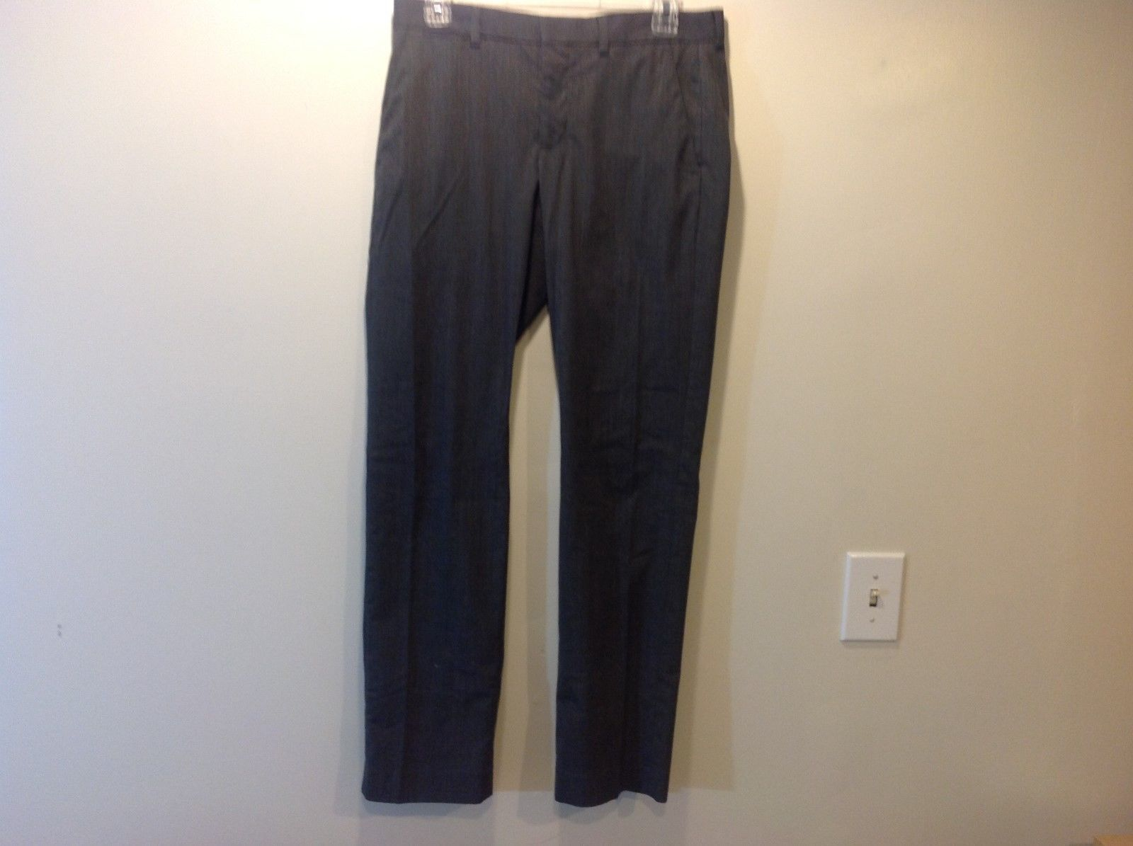 EXPRESS Photographer Men's Gray Trousers/Dress Pants Sz 29/32