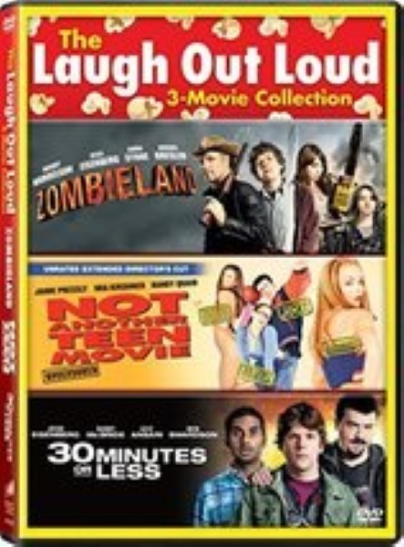30 Minutes or Less / Not Another Teen Movie / Zombieland - Vol - Set Dvd