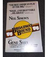 NEIL SIMON'S BROADWAY BOUND POSTER - 1988 - $9.98