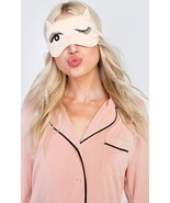 NIB Wildfox Couture Beauty Sleep Kintten Nap Eye Mask in Bellini - £24.42 GBP