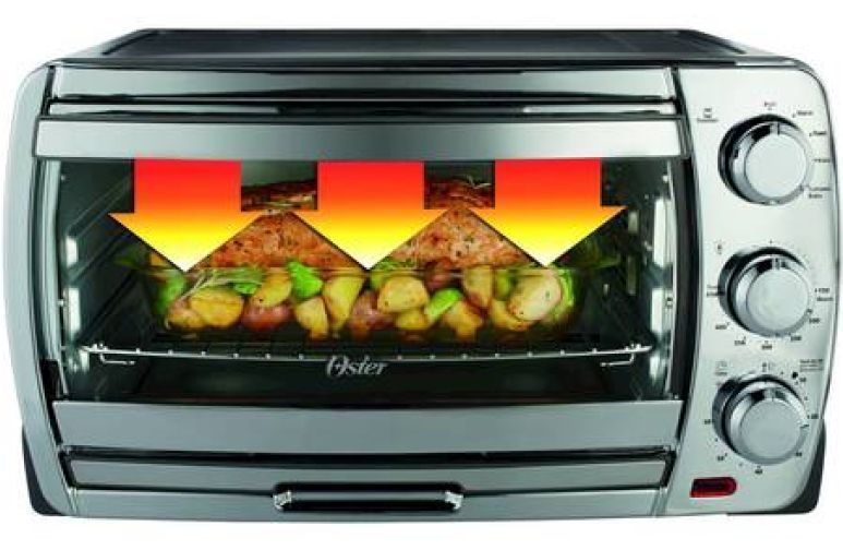 Oster Convection Countertop Toaster Oven Large Capacity Tssttvcg01 : Oster Large Capacity Convection Toaster Oven Bake Broil Toast ...