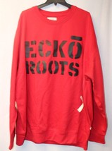 NEW MENS BIG & TALL SIZE 5XB 5XL ECKO ROOTS RED FLEECE SWEATSHIRT SWEATS... - $31.92