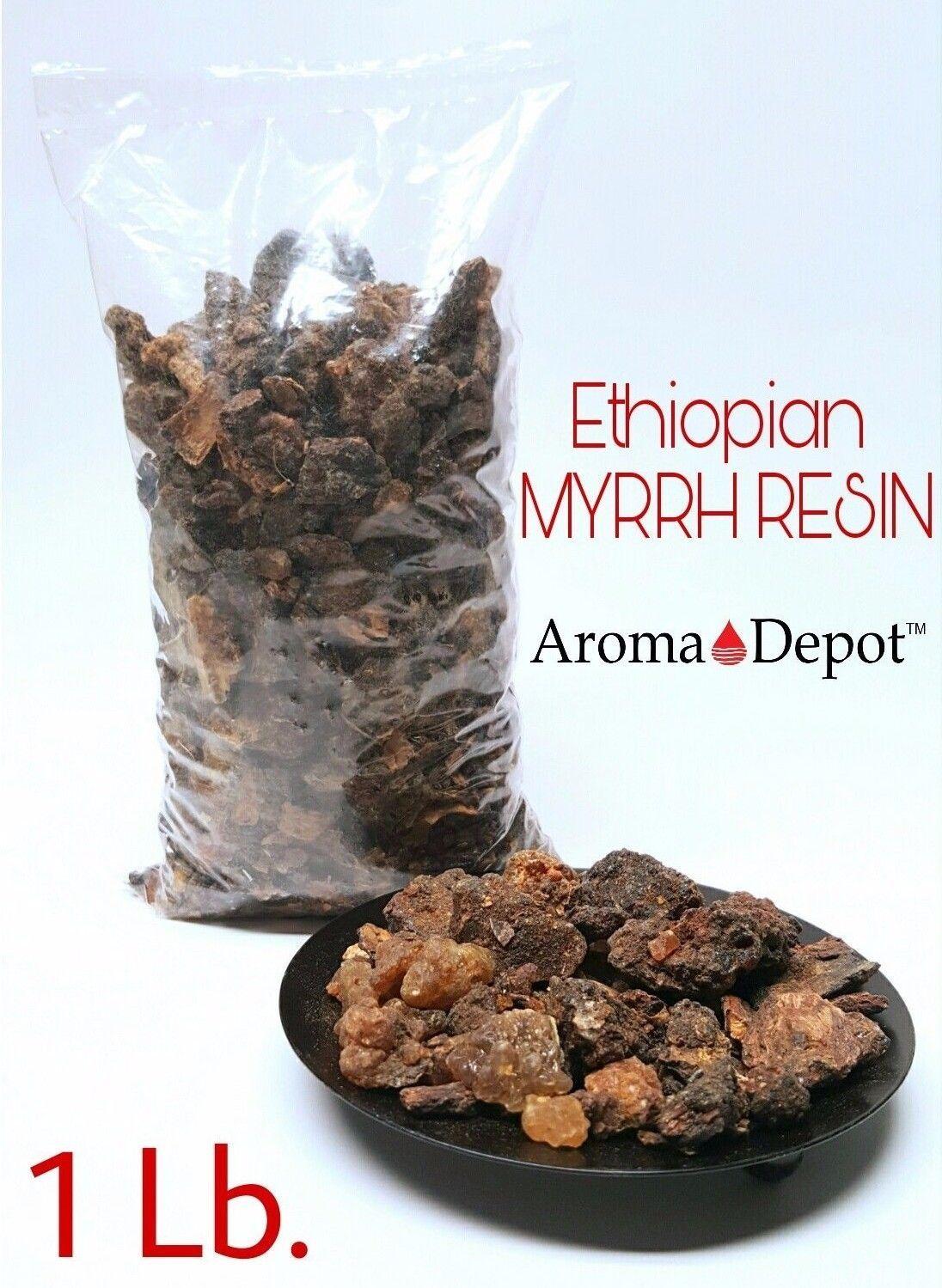 Ethiopian MYRRH Resin Tears Gum Sap Rock Incense Organic Aromatic Resin 1 lb.