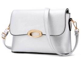 6 Color Women Leather Shoulder Bags Medium Clutch Bags,Purse K168-6 - ₨2,136.35 INR+
