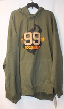 NEW MENS BIG & TALL ROCAWEAR SIZE 6XB 6XL OLIVE GREEN PULLOVER HOODIE SW... - $33.85