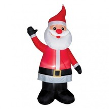 Inflatable Santa Claus 7 Foot Tall Christmas Airblown Holiday Yard Decor... - $86.60