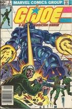 (CB-51) 1982 Marvel Comic Book: G.I. Joe A.R.A.H. #3 - $15.00