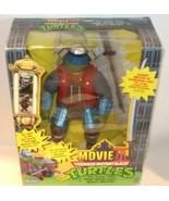 """RARE ✰✰ TMNT 12"""" Leo Action Figure SEALED NEW - Movie III - Playmates Toys 1993 - $289.99"""