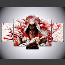 5 Panel HD Printed Assassin's Creed Movie Picture HD Hoom Wall Art Painting - $49.99+