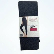 Isabel Maternity Gray Seamless Belly Tights Footless Full Length S/M NEW - $11.08