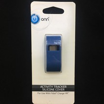ONN Fitbit Charge HR Blue Silicone Cover Sleeve Activity Tracker Protector - $3.99