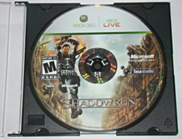 XBOX 360 - SHADOW RUN (Game Only) - $5.00