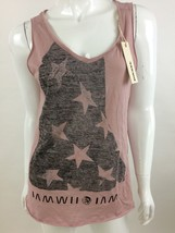 Diesel New Women's T-Crassula-H Sleeveless Top T-Shirt Size L Color Pink - $30.33