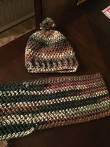 Camouflage Hat and Cowl - $30.00
