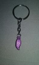 Handmade Silver Leaf Charm Key Chain Fashion Ac... - $4.99