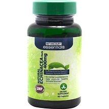 Betancourt Essentials Echinacea Root Herbal Supplement, 400 mg, 60 Count - $12.86