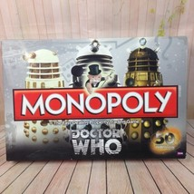 Doctor Who Monopoly 100% Complete 50th Annivers... - $33.16