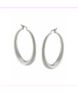 Lauren Ralph Lauren Silver-Tone Medium Donut Hoop Earrings  $16.99 - $8.80