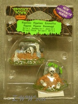 Lemax Spooky Town Halloween Zombies rising from their graves figures set... - $4.49
