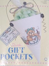 Janlynn Quick Gift Pockets Cross Stitch Kit - $34.65