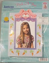 Janlyyn Peek-a-Boo Bunny Lapin Counted Cross Stitch Kit - $34.65