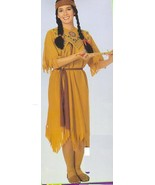 NATIVE AMERICAN LADIES POCAHONTAS COSTUME Standard size - $25.00