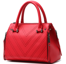 Medium Leather Shoulder Bags Fashion New Tote Bags Mixed Color Handbags ... - $39.99