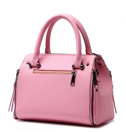 Medium Leather Shoulder Bags Fashion New Tote Bags Mixed Color Handbags P174-1
