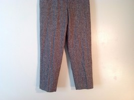 Great Used Condition Charter Club Petite Brown Tweed Pants Size 8P image 4