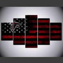 5 Pcs No Framed Printed Atlanta Falcons Football Flag Picture Wall Art P... - $47.99