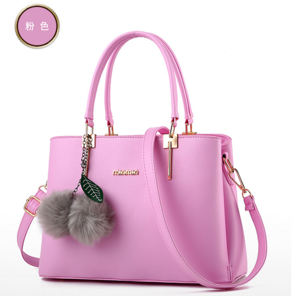 Mixed Color Leather Women Handbags Free Shipping Shoulder Bags Tote Bags,D176-6