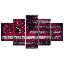 5 Pcs No Framed Printed Arizona Cardinals Football Flag Picture Wall Pai... - $47.99