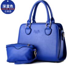 Women 6 Color Leather Handbags Shoulder Bags,Medium Tote Bags Clutch Bag X177-9 - $39.99