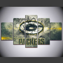 5 Pcs No Framed Printed Packers Football Game P... - $47.99