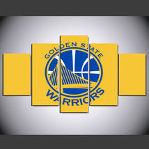 5 Pcs No Framed Printed Golden State Warriors Basketball Picture Wall Pa... - $47.99